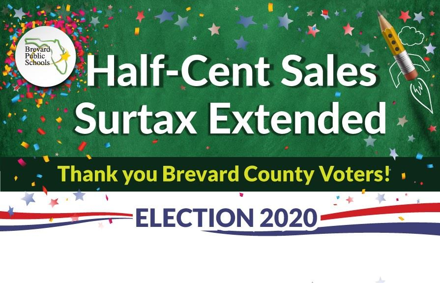 Half-Cent Sales Surtax Extended-Thank you Voters!