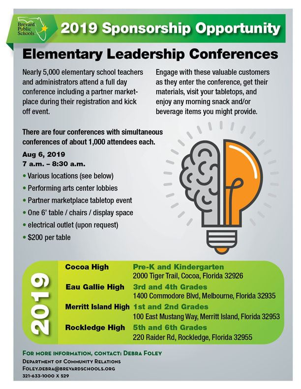 Elementary Conference