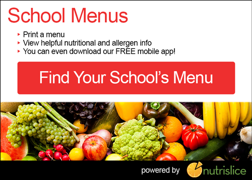 Find Your Schools menu