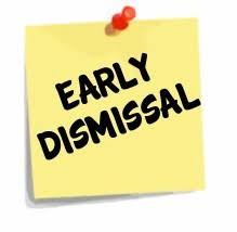 Early Dismissal is EVERY Friday at 1:15PM
