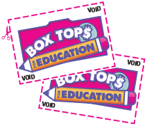 Anytime is a great time to save your BOXTOPS FOR EDUCATION !