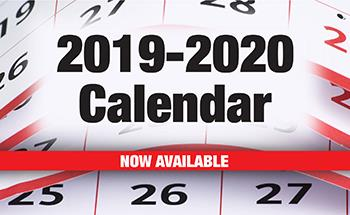 District Calendar 2019-2020 Now Available