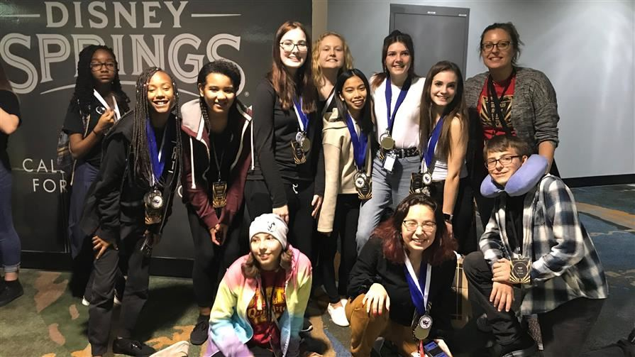 Drama Club Excels at State