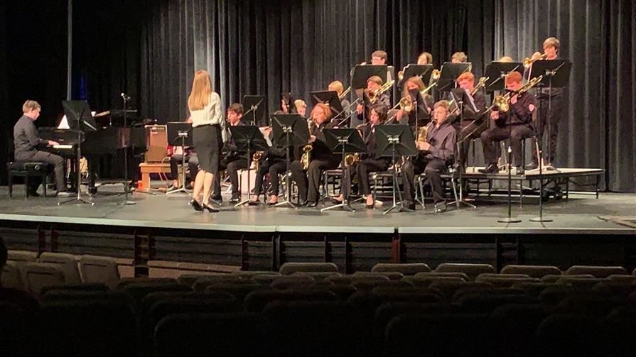 Band Scores High at MPA's.