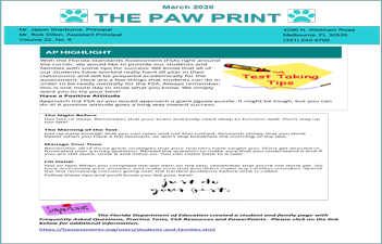 March PAW Print