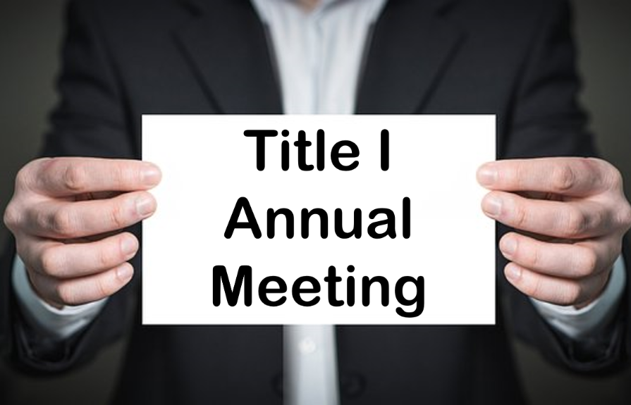 Title I Annual Meeting Video