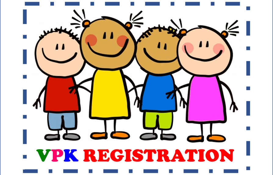 VPK Registration Due 4/22