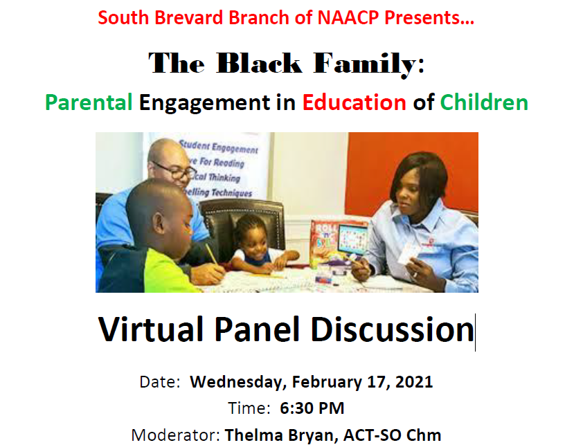 The Black Family: Parental Engagement in Education of Children