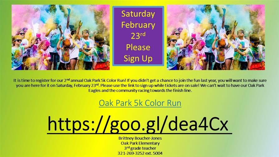2019 Color Run 5K