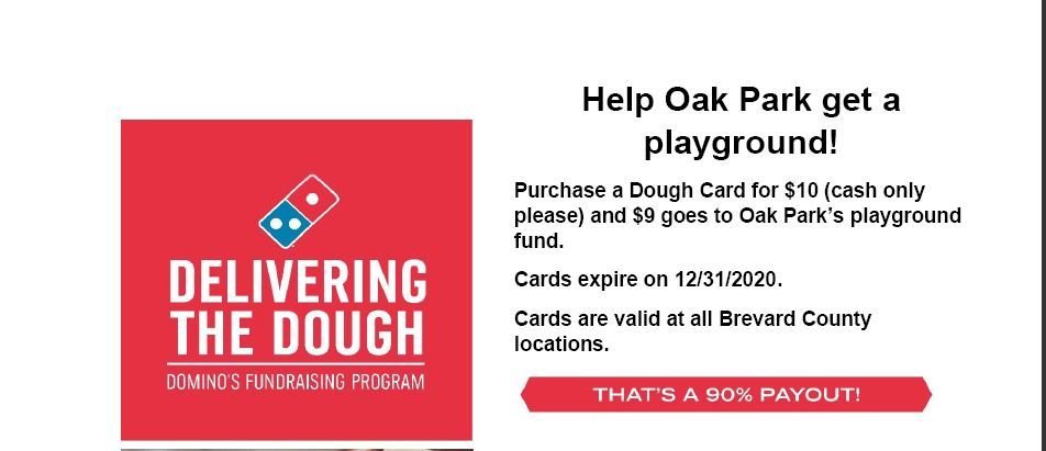 Domino's Pizza Playground Fundraiser