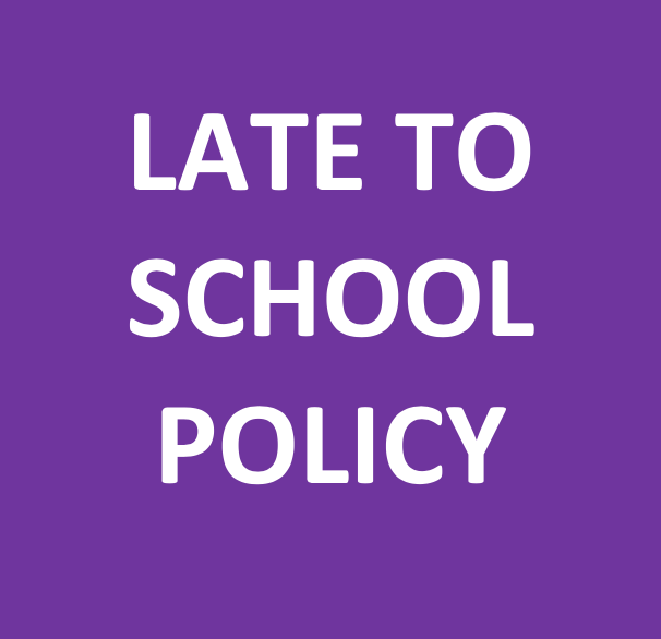 Click here for important late to school information