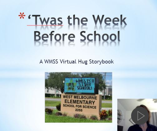 Welcome Back to School Story, Narrated by Mrs. Benson