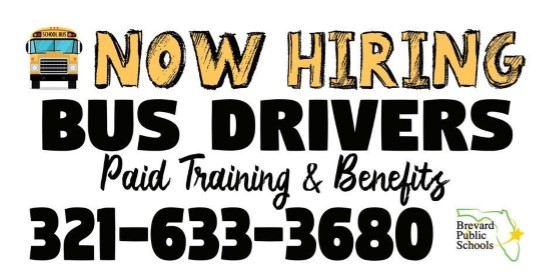 BPS Hiring Bus Drivers!