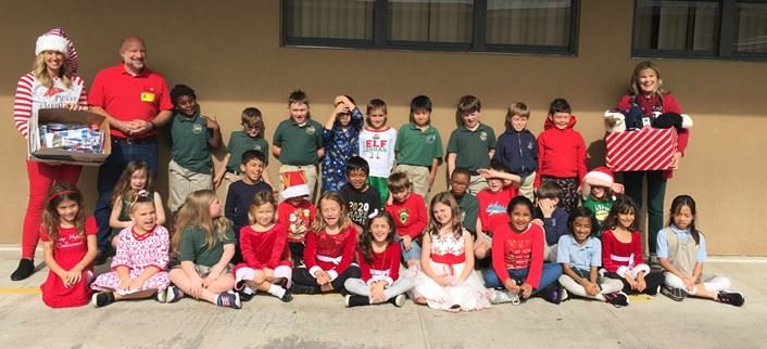 Mrs. Pahl and Mrs. Meier's classes extend kindness to the homeless ...click for story!
