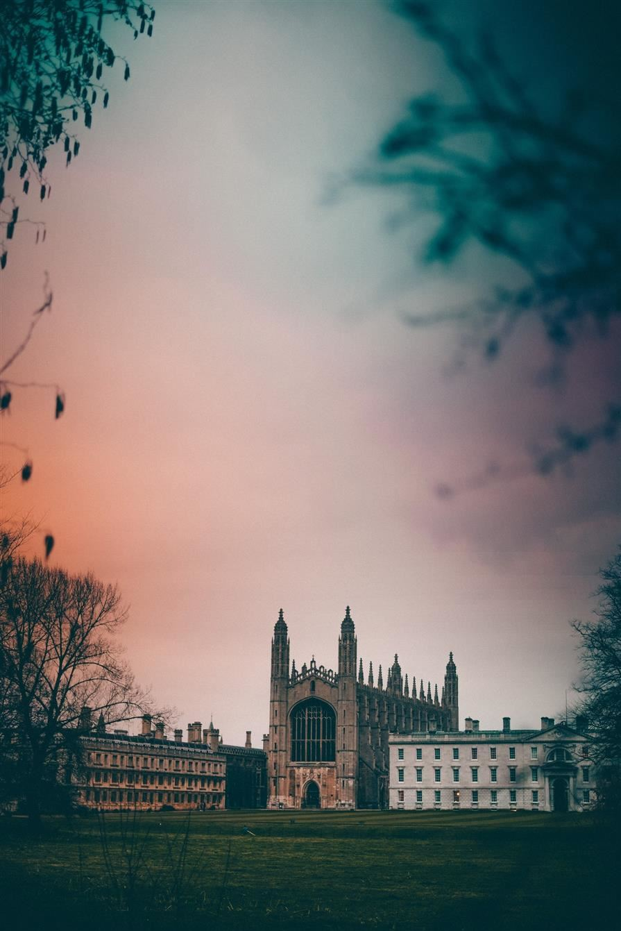 beautiful picture of the University of Cambridge